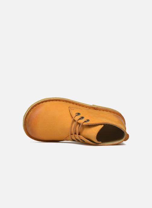 Scarpe con lacci Kickers Realkiz Marrone immagine sinistra