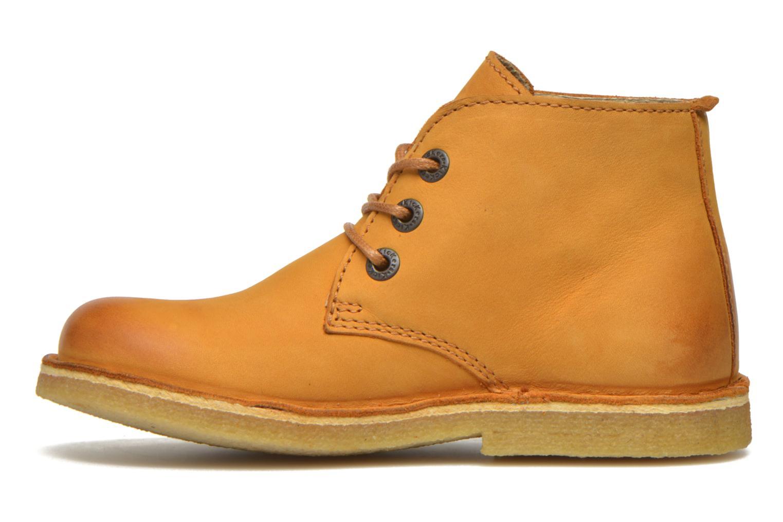 Chaussures à lacets Kickers Realkiz Marron vue face