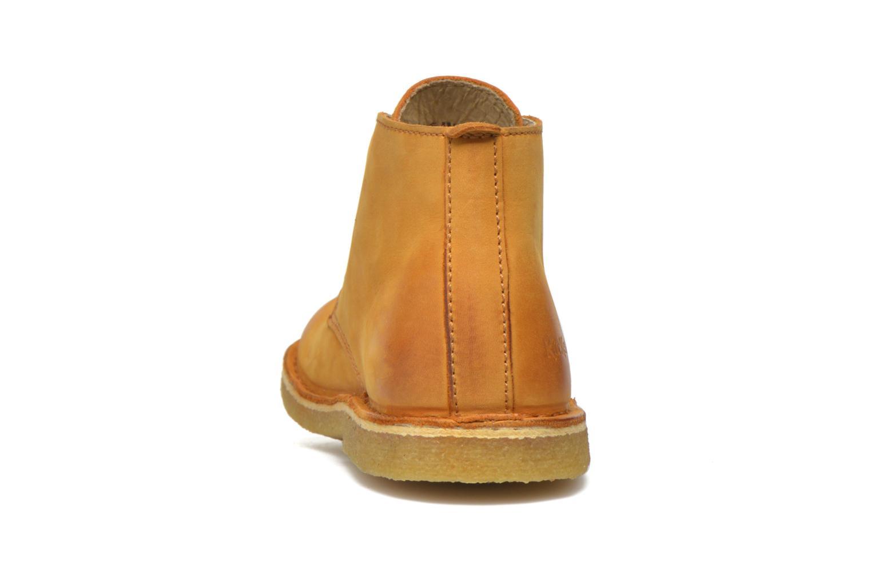 Chaussures à lacets Kickers Realkiz Marron vue droite