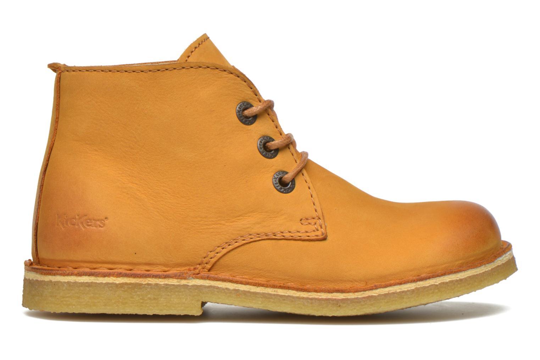 Chaussures à lacets Kickers Realkiz Marron vue derrière