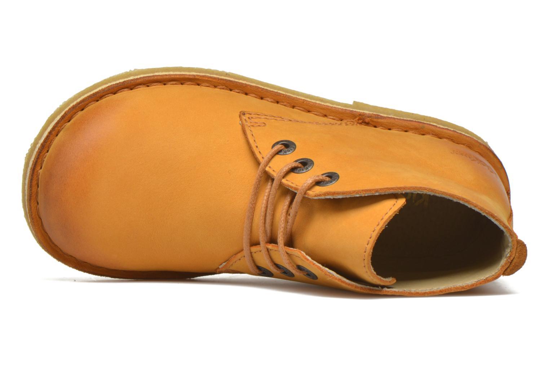 Chaussures à lacets Kickers Realkiz Marron vue gauche