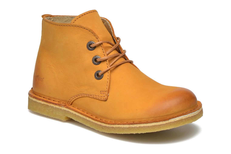 Chaussures à lacets Kickers Realkiz Marron vue détail/paire