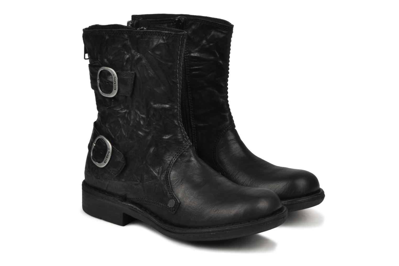 Bottines et boots Kickers Rocket Noir vue 3/4