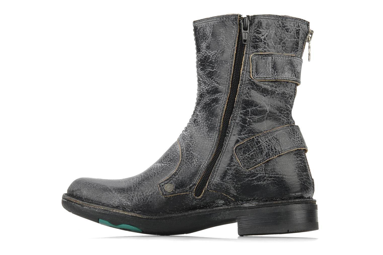 Bottines et boots Kickers Rocket Noir vue face