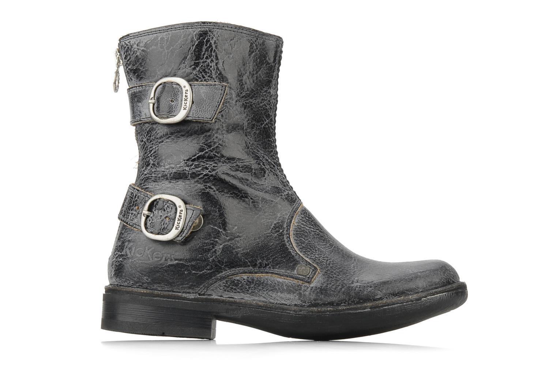 Bottines et boots Kickers Rocket Noir vue derrière