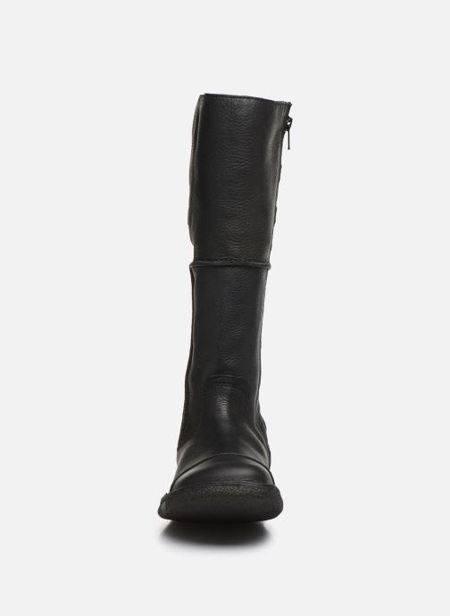 Bottes Kickers Olibotte Noir vue portées chaussures