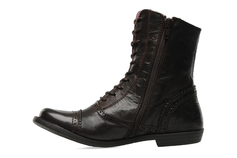 Bottines et boots Kickers Edwin Marron vue face
