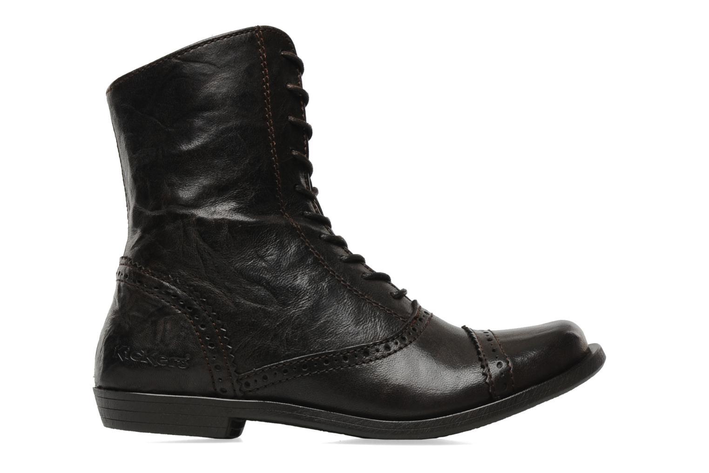 Bottines et boots Kickers Edwin Marron vue derrière