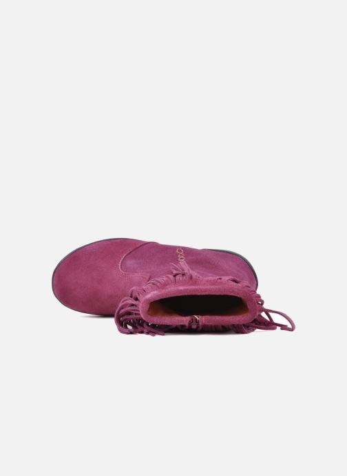 Bottines et boots Naturino Katel Rose vue gauche