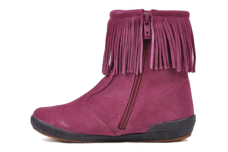 Bottines et boots Naturino Katel Rose vue face