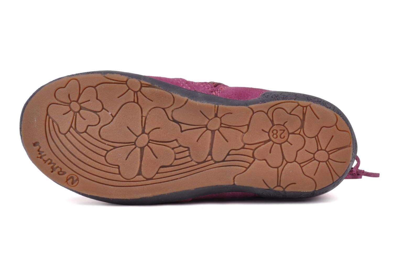 Bottines et boots Naturino Katel Rose vue haut