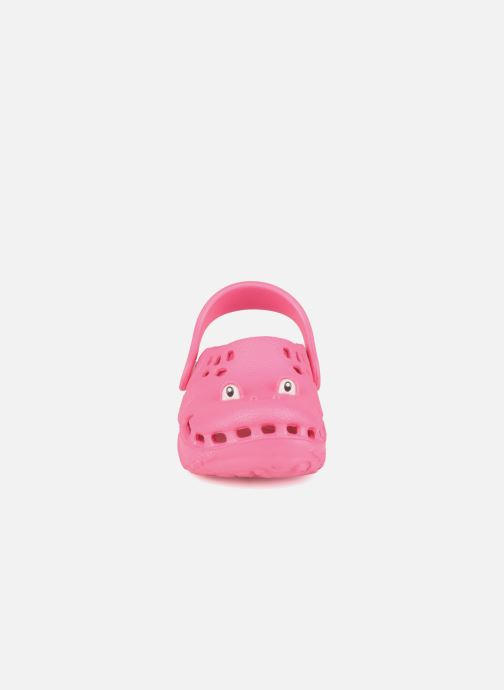 Sandalen Polliwalks Bilbouille La Grenouille rosa schuhe getragen