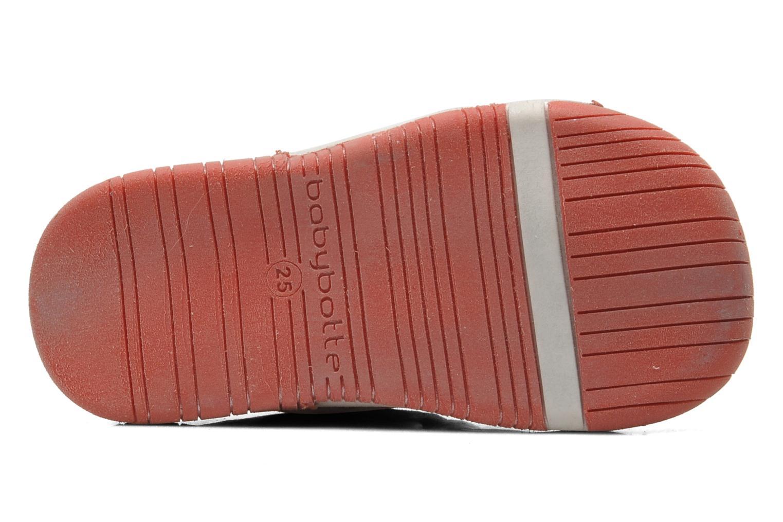 Chaussures à scratch Babybotte Acteur Multicolore vue haut