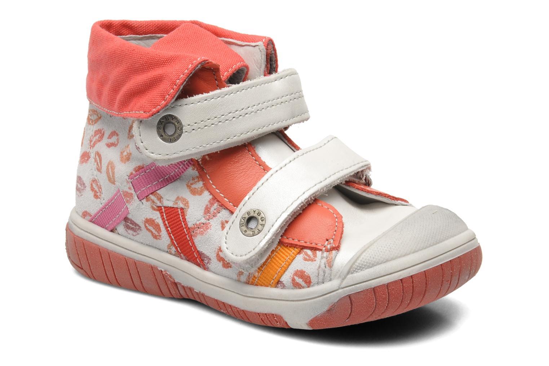Chaussures à scratch Babybotte Acteur Multicolore vue détail/paire