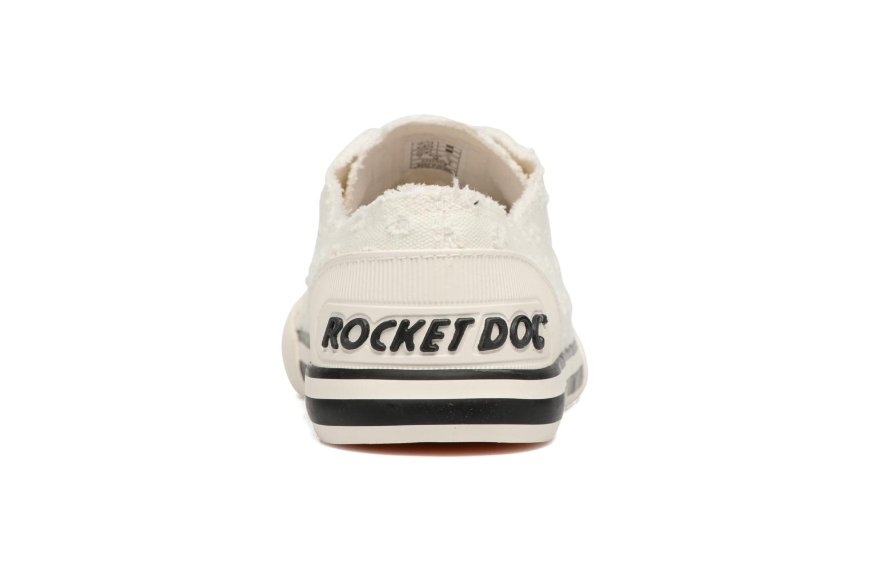 Baskets Rocket Dog Jazzin Blanc vue droite