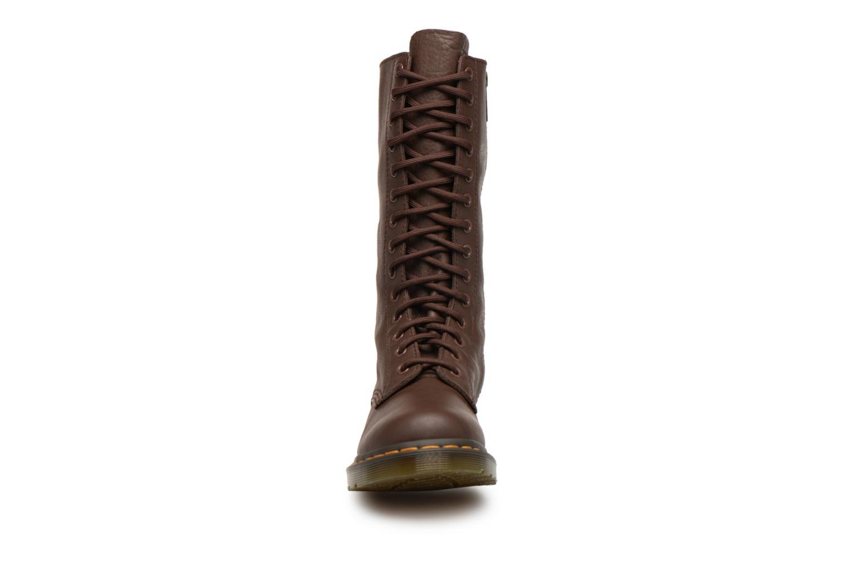 Bottines et boots Dr. Martens 1b99 W Marron vue portées chaussures