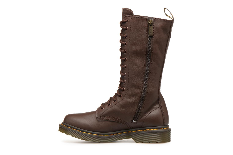 Bottines et boots Dr. Martens 1b99 W Marron vue face