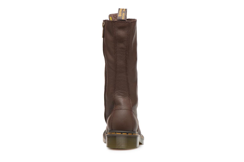 Bottines et boots Dr. Martens 1b99 W Marron vue droite