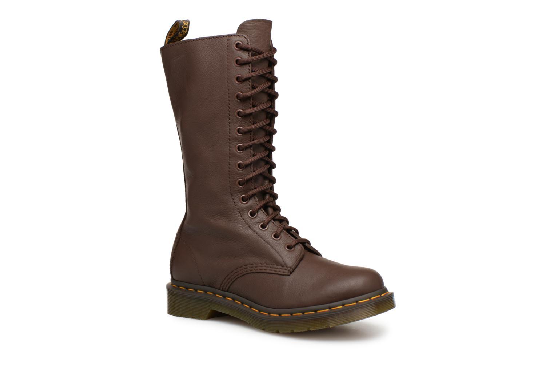 Bottines et boots Dr. Martens 1b99 W Marron vue détail/paire