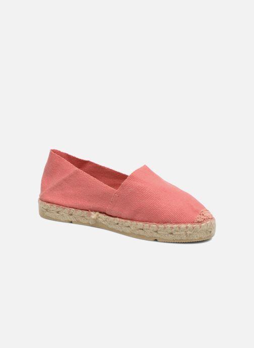 Espadrillos La maison de l'espadrille Sabline E Pink detaljeret billede af skoene