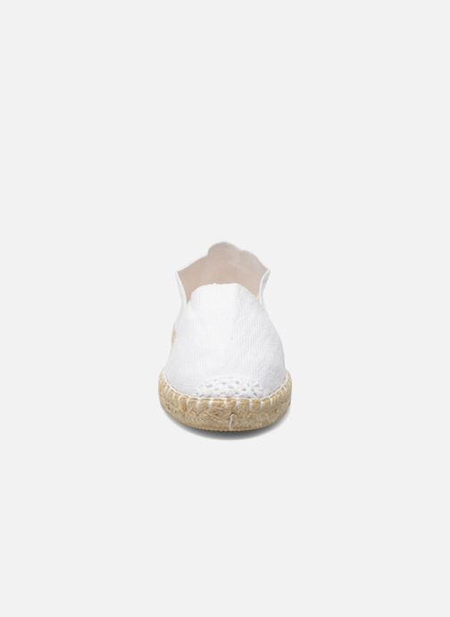 Scarpe di corda La maison de l'espadrille Sabline E Bianco modello indossato