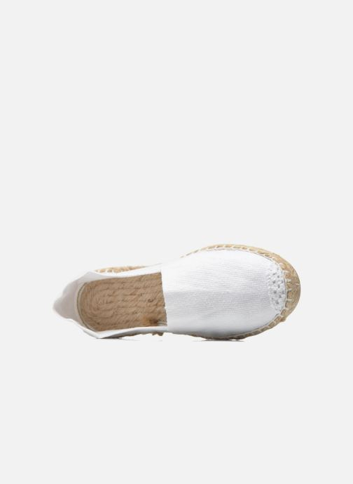 Espadrilles La maison de l'espadrille Sabline E White view from the left