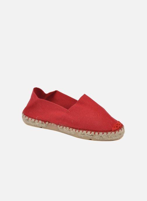 Espadrillos La maison de l'espadrille Sabline E Rød detaljeret billede af skoene