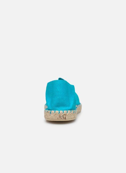 Alpargatas La maison de l'espadrille Sabline E Azul vista lateral derecha