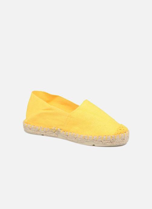 Espadrillos La maison de l'espadrille Sabline E Gul detaljeret billede af skoene