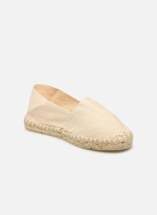 Espadrillos La maison de l'espadrille Sabline E Beige detaljeret billede af skoene