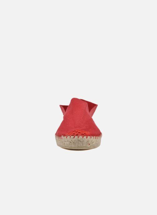 Alpargatas La maison de l'espadrille Sabline F Rojo vista del modelo