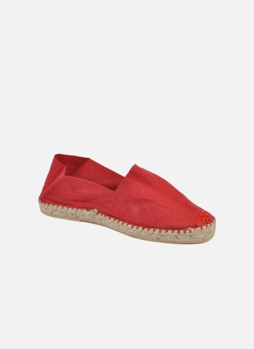 Espadrillos La maison de l'espadrille Sabline F Rød detaljeret billede af skoene