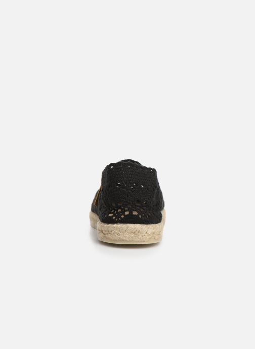 Espadrilles La maison de l'espadrille Sabline F Black view from the right