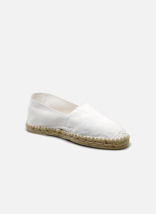 Espadrillos La maison de l'espadrille Sabline F Hvid detaljeret billede af skoene