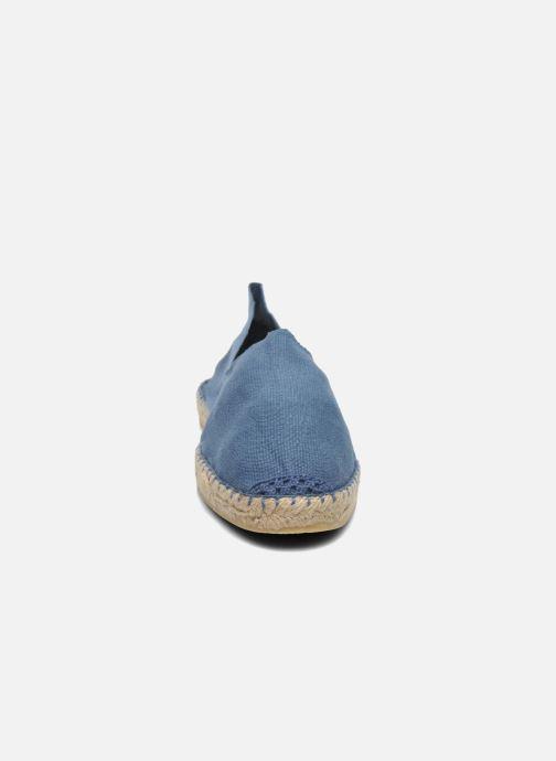 Espadrilles La maison de l'espadrille Sabline H Bleu vue portées chaussures