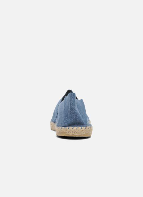 Espadrilles La maison de l'espadrille Sabline H Bleu vue droite