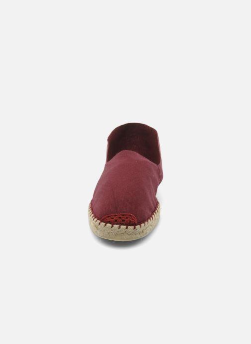 Espadrilles La maison de l'espadrille Sabline H Bordeaux vue portées chaussures