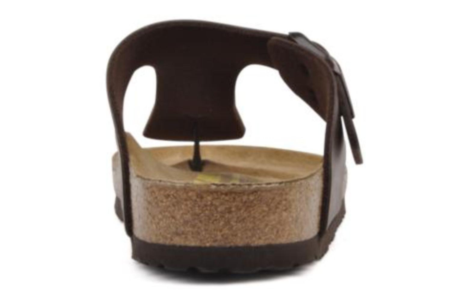 Flip flops Birkenstock Ramses M Brown view from the right