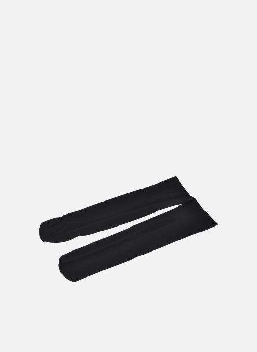 Chaussettes et collants Falke Pure Matt 50 Mi-Bas Noir vue face