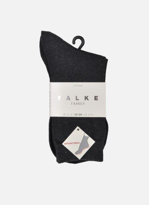Chaussettes et collants Falke Familiy Socquette Gris vue portées chaussures