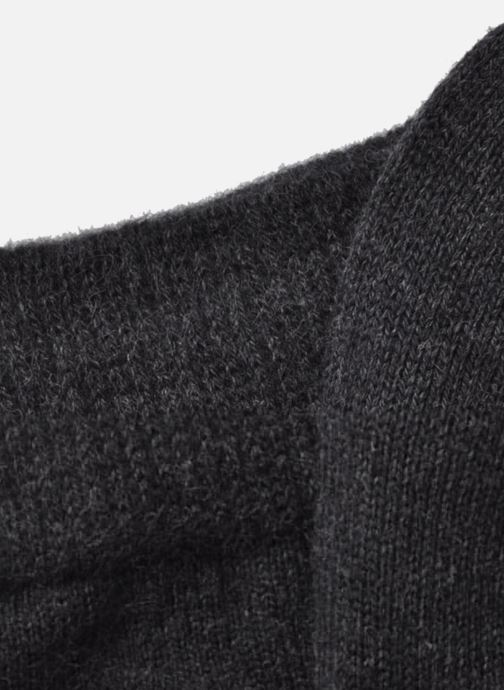 Socken & Strumpfhosen Falke Familiy Söckchen grau ansicht von hinten