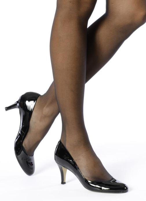 High heels Jonak Judith Black view from underneath / model view