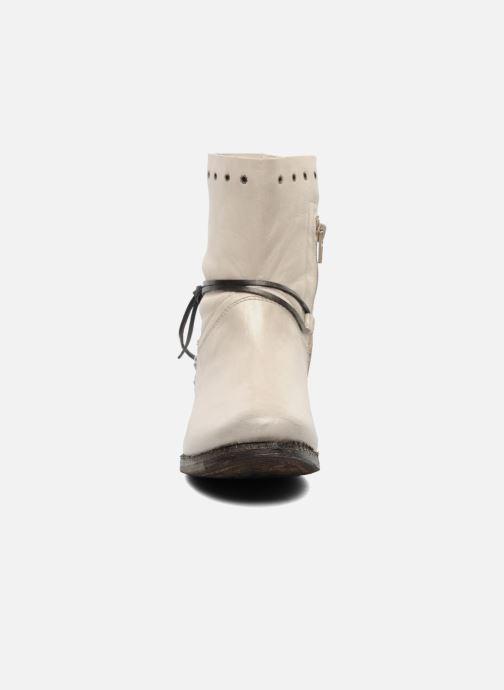 Stiefeletten & Boots Khrio Berta beige schuhe getragen