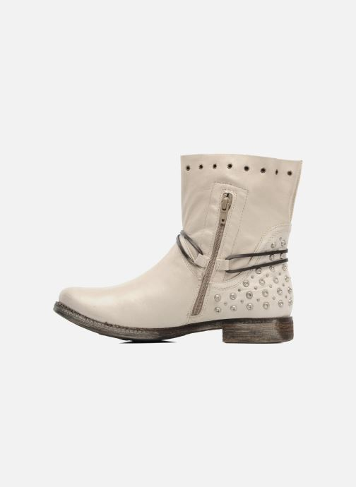 Boots en enkellaarsjes Khrio Berta Beige voorkant