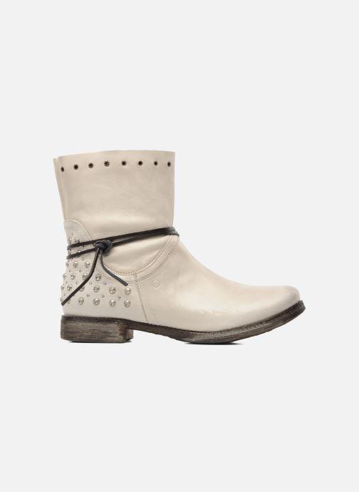 Boots en enkellaarsjes Khrio Berta Beige achterkant