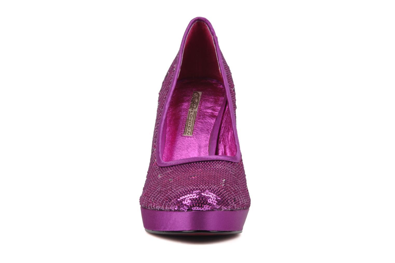 High heels Buffalo Paillette Pink model view
