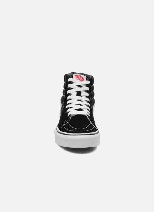 Sneaker Vans SK8 Hi W schwarz schuhe getragen