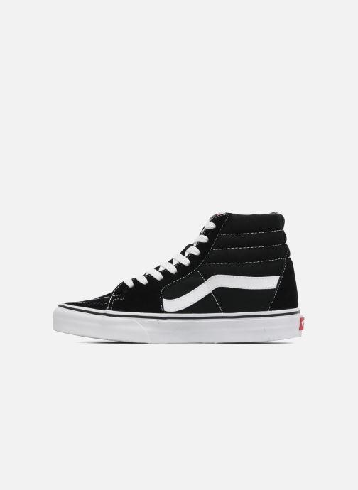 Sneaker Vans SK8 Hi W schwarz ansicht von vorne