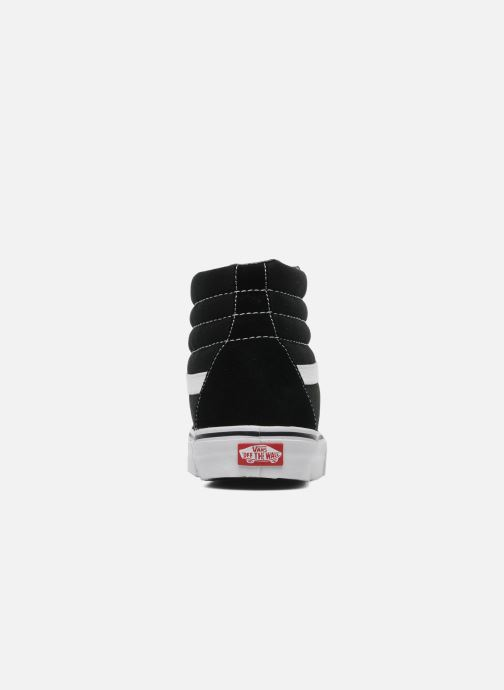 Baskets Vans SK8 Hi W Noir vue droite