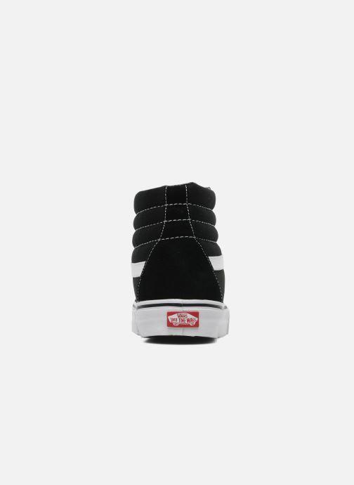 Sneaker Vans SK8 Hi W schwarz ansicht von rechts
